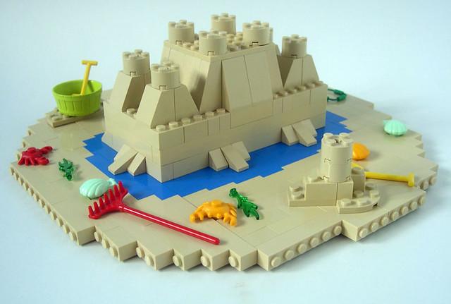 Brick 2x4 Sand Castle 05