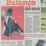 "miss gadget on ""folha de s. paulo"" newspaper"
