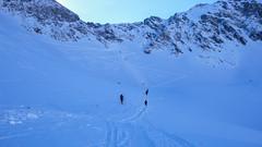 Dolina 5 Stawów -podejscie na Szpiglasowa Przełęcz