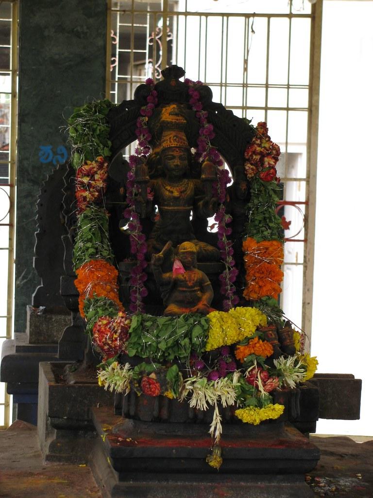Surya (Sun) in Navagraha Mandir | Facing East, of course