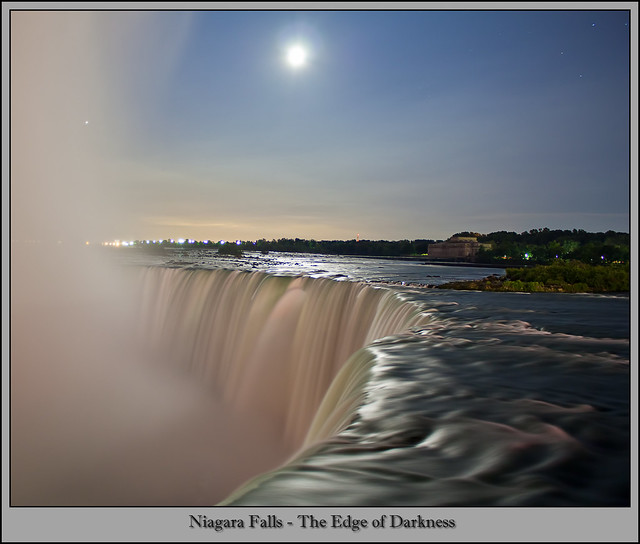Niagara Falls Canada - The Edge of Darkness