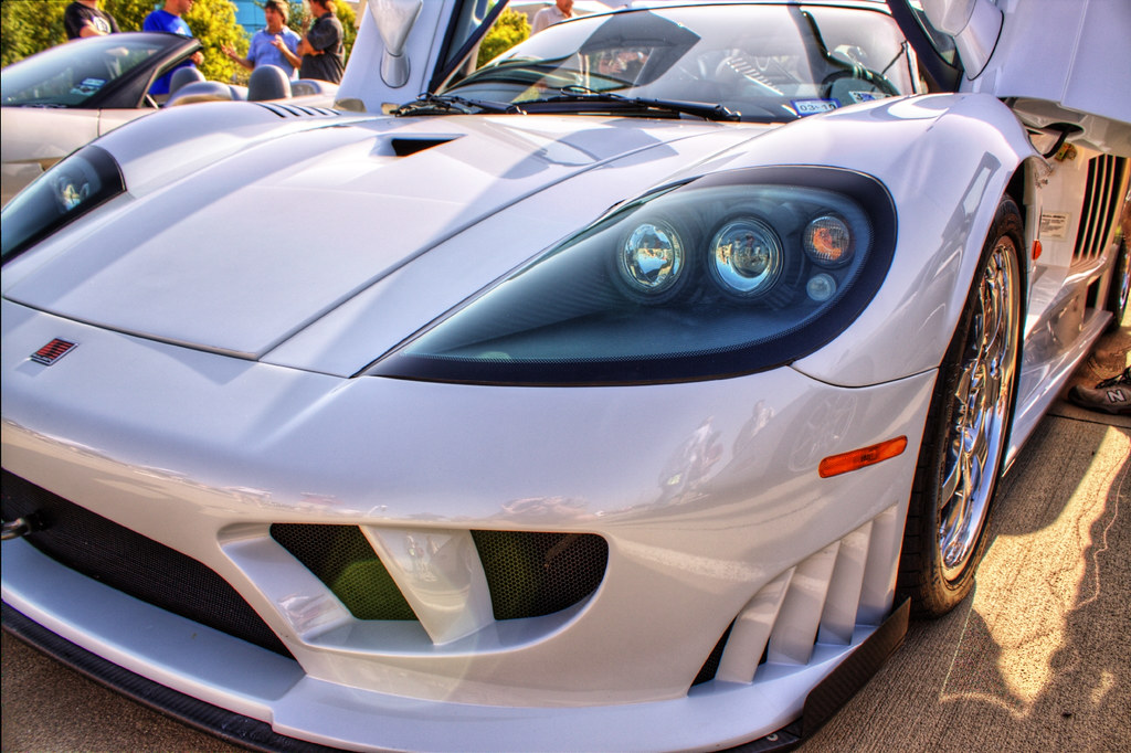 Saleen s7 Twin Turbo at Cars and Coffee