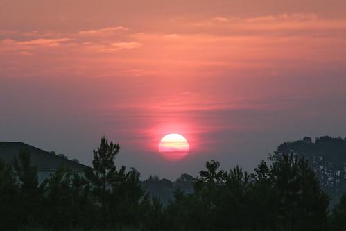 morning sky sun sunrise landscape dawn northcarolina greenville sunup daybreak morningsky firstlight tadsunrise sunrisedaily
