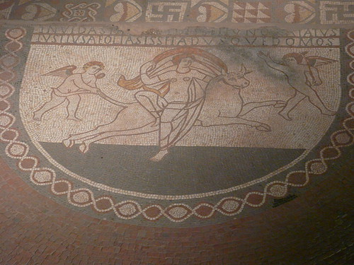 The Rape of Europa Mosaic, Lullingstone Roman Villa