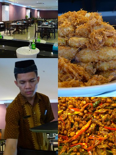 Bergedil, Tempe Kacang, & a Clean Environment for Dining