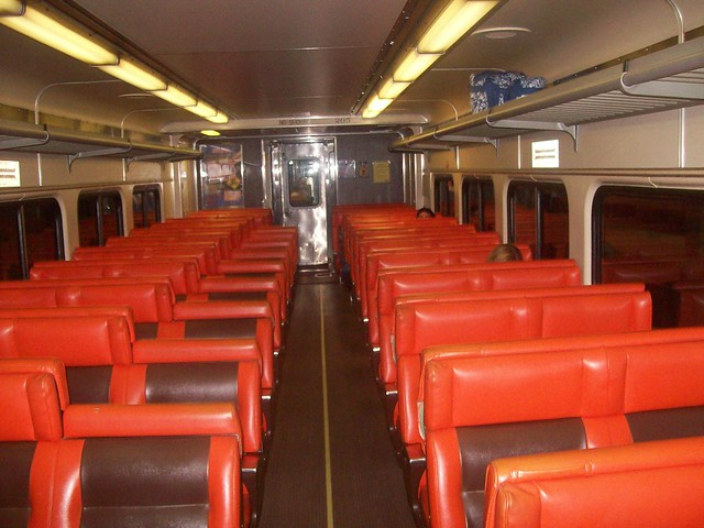 South Shore Line Old School Car Interior The Train I Took Flickr Photo Sharing