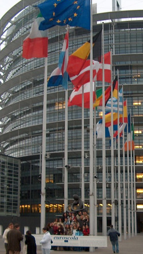 360x640 wallpaper. Parlamento Europeo. Nokia 5800 N97