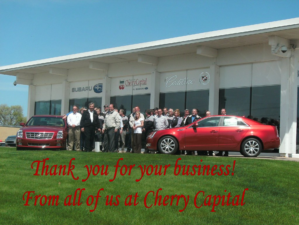 Thank You From Cherry Capital