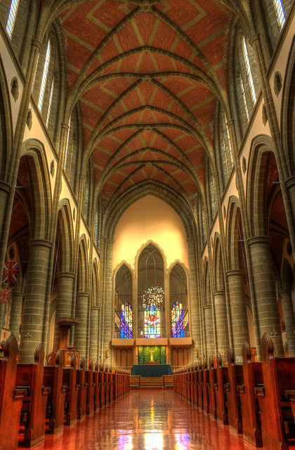 Christ Church Cathedral Interior: Victoria B.C