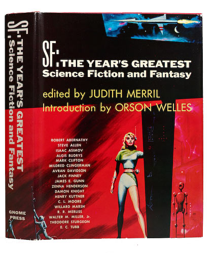Judith Merril, ed. - SF: The Year's Greatest Science Fiction and Fantasy