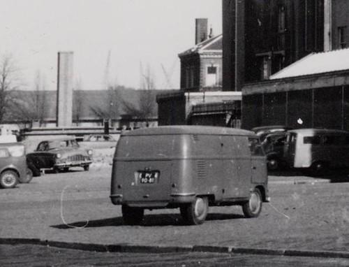 PV-90-81 Volkswagen Transporter bestelwagen 1951