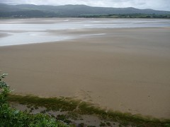sand, reservoir, plain, body of water, natural environment, shore,
