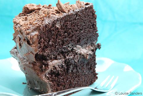 Moist, Rich Chocolate Cake | Flickr - Photo Sharing!