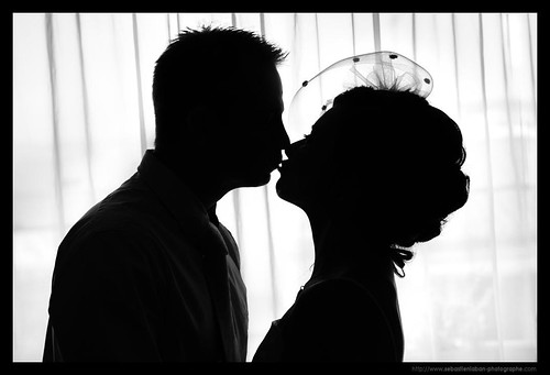 MARIAGE / WEDDING : The Kiss