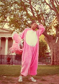 el yo interior de la pantera rosa se acordó que no había pagado la factura del gas