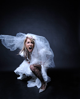 Anti-bride: the scream