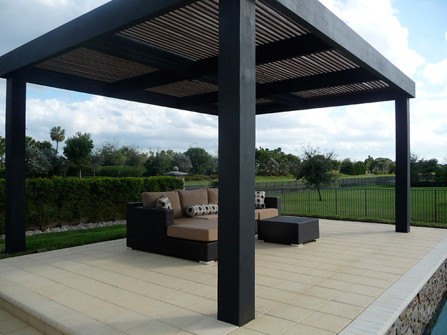 modern pergola custom built flickr photo sharing. Black Bedroom Furniture Sets. Home Design Ideas
