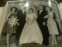 My Uncle Mel's Wedding Photo