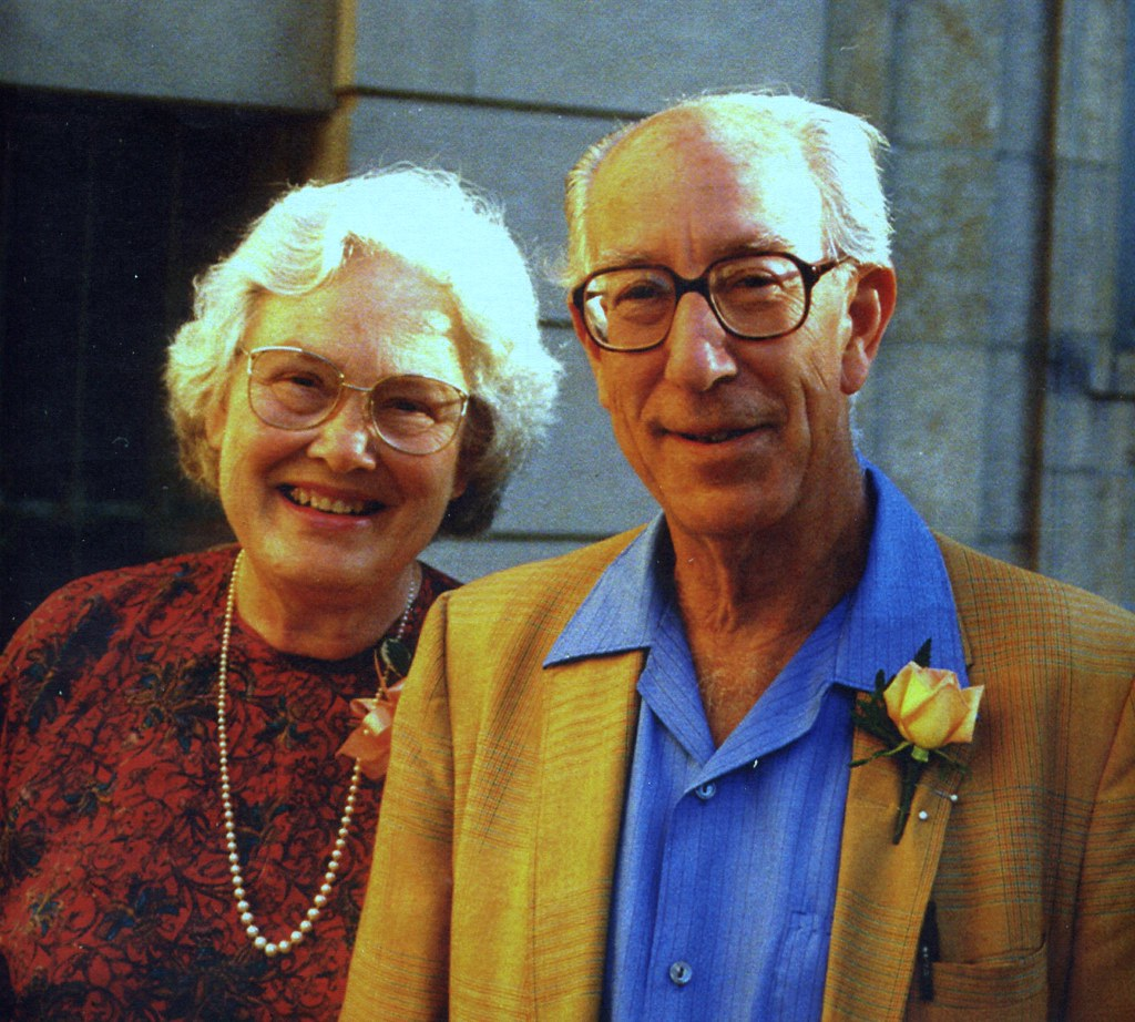 Mary Ellen Rudin And Walter Rudin At Their Retirement Madison 1991 Photo Credit Yvonne Nagel ...