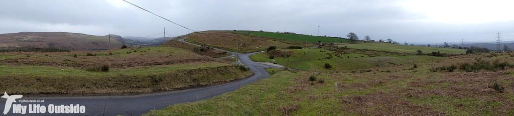 P1060835 - Route of the proposed Mynydd y Gwair wind farm access track