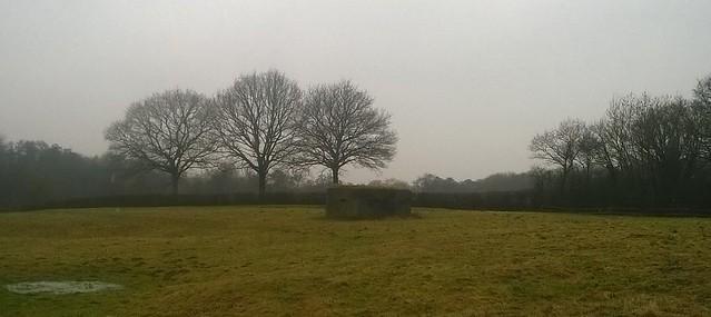Pillbox in field near Buxted