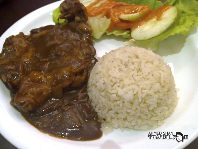 Black Pepper Chicken Rice   Flickr - Photo Sharing!