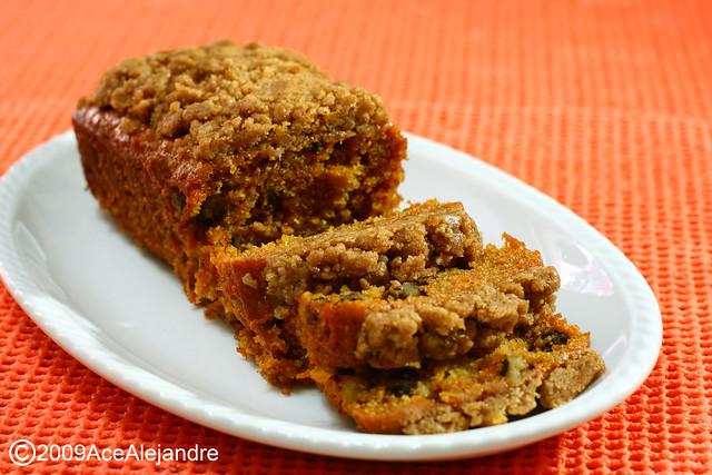 Carrot Walnut Loaf w/ Streusel | Flickr - Photo Sharing!