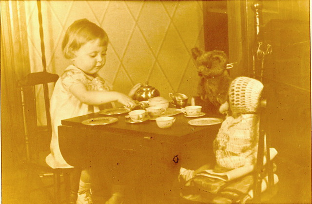 Tea Party with Friends 1936