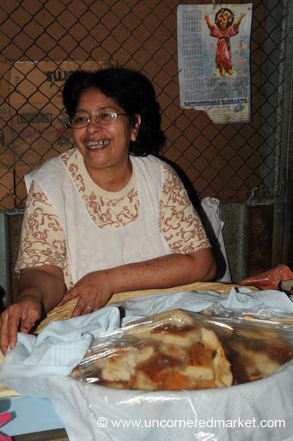 Queen of Cakes at the Masaya Market - Nicaragua