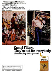 Camel Ad (Popular Science - October 1972)