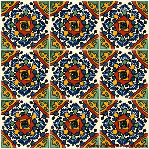 Mexican Hand Painted Tiles Flickr Photo Sharing