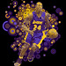 Kobe Bryant: L.A.Lakers Colors