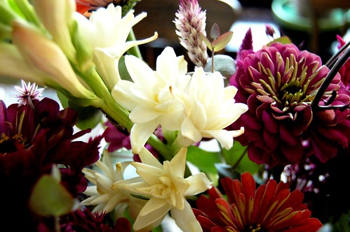 Fresh flowers from Drumm Farms