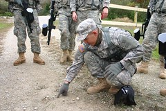 Patriot Academy students participate in military training