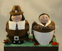 Thanksgiving_Pilgrim_Cake
