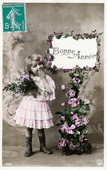Vintage Postcards - Bonne Annee - 01 by sebastien.barre