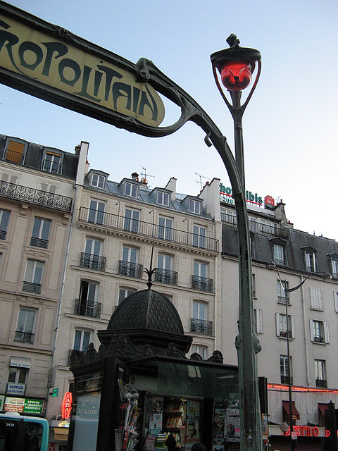 place de clichy station paris metro flickr photo sharing. Black Bedroom Furniture Sets. Home Design Ideas