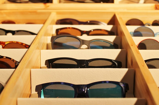 eyedoo glasses frame selection pop up marylebone