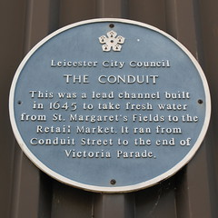 Photo of The Conduit blue plaque