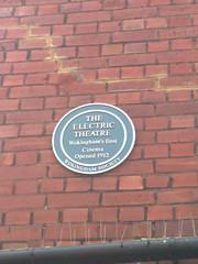 Photo of Electric Theatre, Wokingham blue plaque