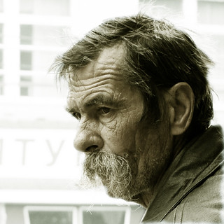 A portrait of an Ukrainian man