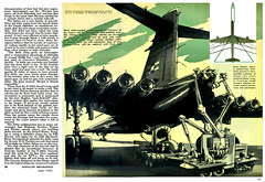 1956 ... atomic powered bomber (Pop Science)