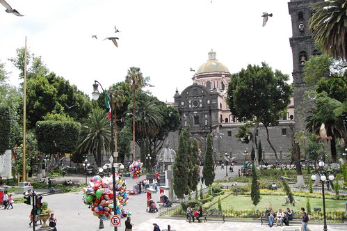 Fuente Teatro Principal - Puebla