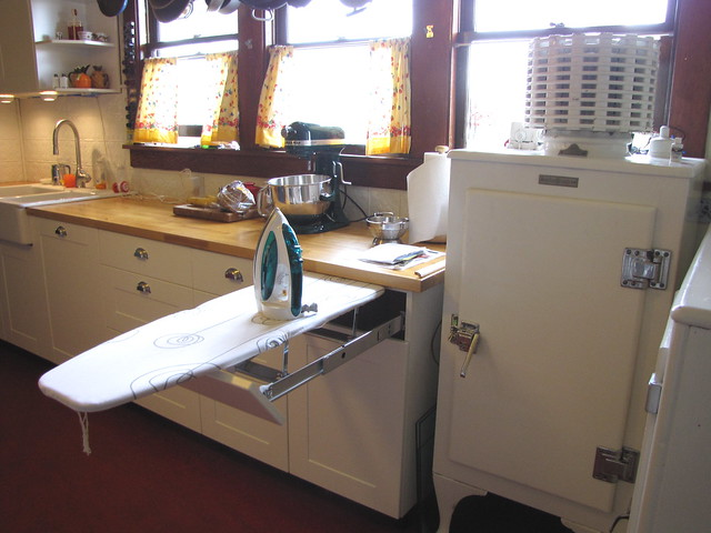 Built In Ironing Board In Kitchen Flickr Photo Sharing