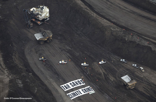 Greenpeace Tarsands action