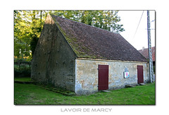 Lavoir in Marcy (F)