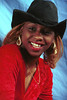 Spice Philly Studio Red Dress Portrait Jan 1997 - 01