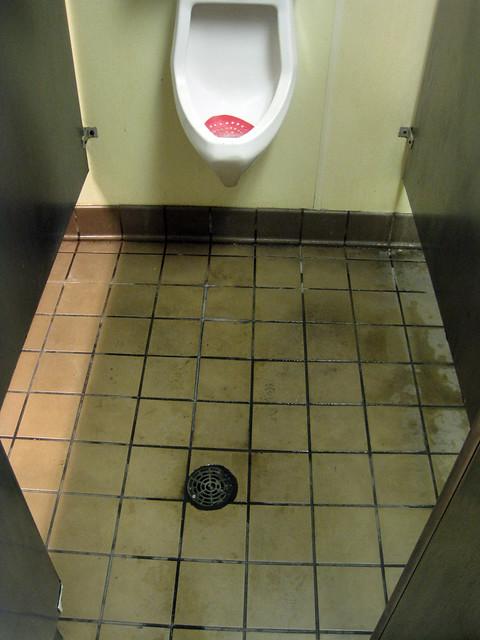 Terrifying Bathroom Floor At Gas Station Flickr Photo