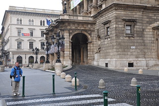 Image of Hungarian State Opera House near Budapest VI. kerület.