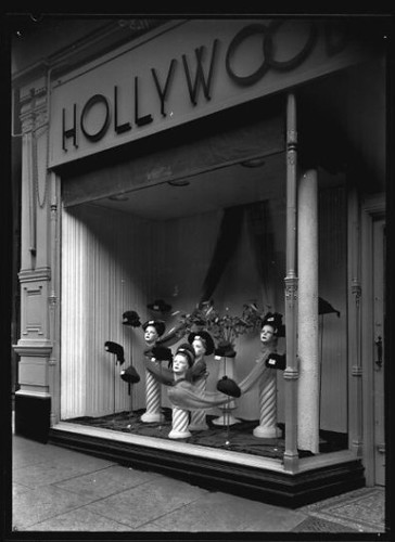 Hollywood Hat Shop Window
